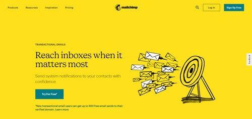 Mailchimp Transactional Email