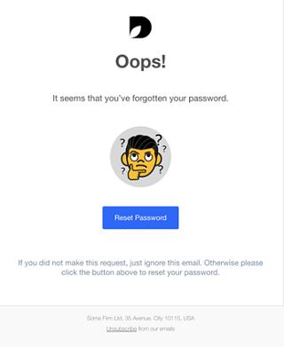 Reset Password Template